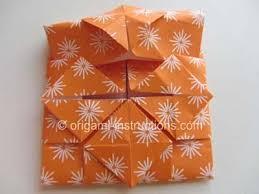 Simple Origami Vase - origami vase folding