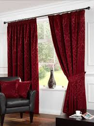 living room with black furniture in our favor designs ideas decors themes red curtains living room