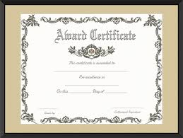 royal award certificate template get certificate templates