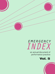ugly duckling presse emergency index an annual document of