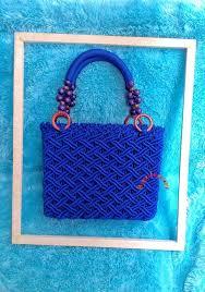 cara akhir membuat tas dari tali kur about macrame cara membuat tas macrame dengan bahan tali kur motif