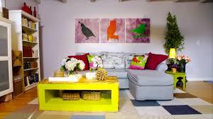 farmhouse living room makeover video hgtv