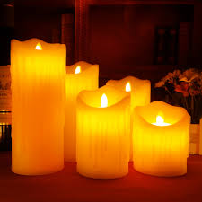 online buy wholesale battery operated pillar candles from china