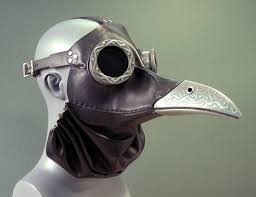 plague doctor s mask ichabod steunk plague doctor mask in black cabinet of