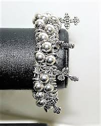 bracelet charms cross images Cross my heart 39 charms beads bracelet 1giftworld jpg