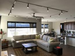 track lighting in living room beautiful satin track lighting with rectangle layout includes
