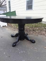 Oak Pedestal Table Heir And Space An Antique Oak Pedestal Table