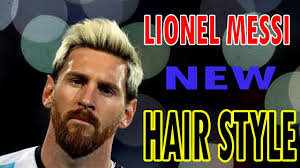 lionel messi hairstyle haircut you must see in 2017 youtube