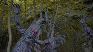 animated haunted tree spirit halloween youtube
