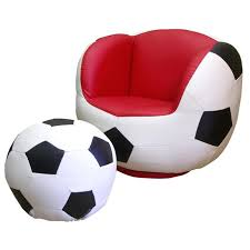 Football Swivel Chair by Polaris Soccer Chair And Ottoman Set 163714 Kid U0027s Furniture At