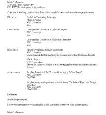 Resume For No Work Experience Sample by Sample Resume No Work Experience College Student Gallery