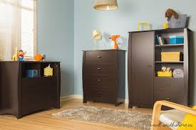 Espresso Computer Armoire by Amazon Com South Shore Beehive Armoire With Drawers Espresso Baby