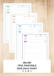 free printable 2016 day planner weekly planners are one of the most popular tools for getting