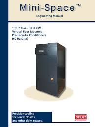 stulz mini space eng manual qe min0027 a air conditioning hvac