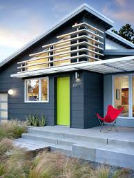 exterior home design one story revere pewter exterior exle of a modern gray one story concrete