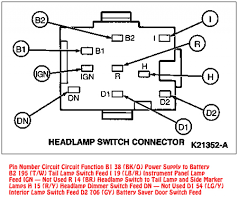 mustang headlight switch wire diagram mustang fuse u0026 wiring