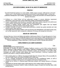 Benefits Manager Resume Safety Manager Resume Lukex Co