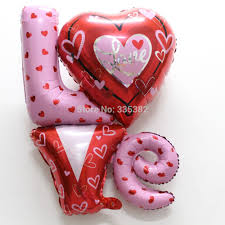 valentines day balloons wholesale wholesale new 18inch i you heart foil balloon