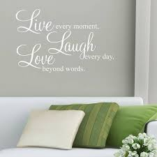live laugh love art tremendous live laugh love wall decals or stickers quotes by parkins
