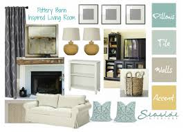 seaside interiors pottery barn and ballard designs on a target budget here is the design i came up with to accommodate her family