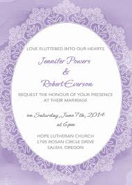 Blank Wedding Invitation Kits Purple Wedding Invitations By Elegant Wedding Invites
