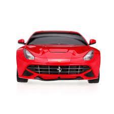 Ferrari F12 Back - red rastar 53500 r c 1 18 ferrari f12 berlinetta radio remote