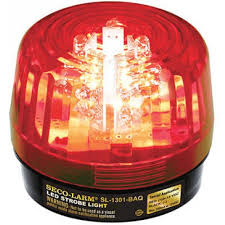 strobe light light bulb led strobe light 32 leds adjustable flash speeds patterns red