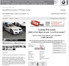 bmw dealership fort myers 2012 bmw 335is dealer prices free costhelper com