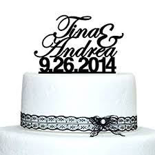 personalized wedding cake toppers custom wedding cake topper personalized name cake