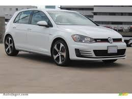 volkswagen golf gti 2015 4 door 2015 volkswagen golf gti 4 door 2 0t s in pure white 009391