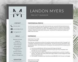 professional resume templates cv templates by landeddesignstudio