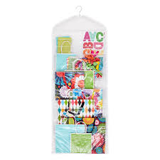 hanging gift wrap organizer hanging gift tote organizer the container store