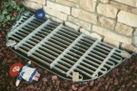 adjust a grate window well covers