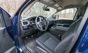 Nicest Truck Interior Nissan Titan Reviews Nissan Titan Price Photos And Specs Car