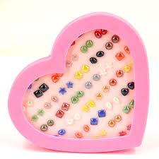 plastic stud earrings free shipping factory wholesale directly cheap imitation