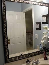 bathroom furniture bathroom white framed bathroom mirrors and