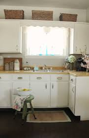 Painting Old Kitchen Cabinets Before And After Kitchen Cabinets Painted Before And After Pretty Petals