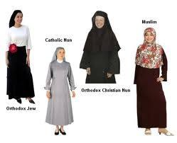 clothing religion information