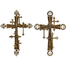 metal crosses metal cross wall decor wayfair