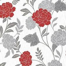 wallpaper glitter pattern arthouse carla floral rose pattern wallpaper glitter motif modern