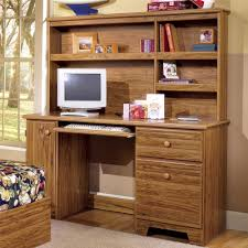lang shaker computer desk with shelf storage and tower door ahfa
