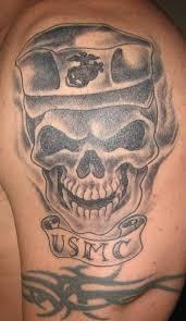 marine corps skull ideas