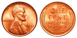 penny s 1953 s lincoln wheat cent bronze composite penny value and prices