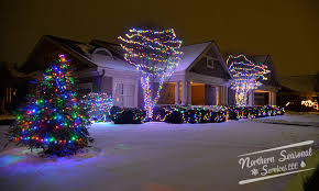 chicago area professional christmas light installation northern
