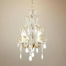 Flush Mount Mini Chandelier Lamps Simple Chandelier Wrought Iron Chandeliers Simple White