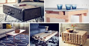 Diy Coffee Table Ideas 15 Creative Diy Coffee Table Ideas You Can Build Yourself Homelovr