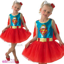 dc hello kitty supergirl kids fancy dress costume