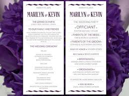 word template for wedding program the 25 best wedding ceremony program template ideas on