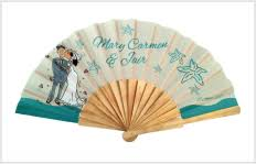 personalized wedding fans wedding fans invitations programs and favors fanprinter