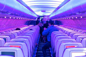 Horizon Air Route Map by Virgin America Learns Mood Lighting Is No Rival To A Well Planned